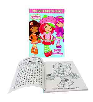 Strawberry Shortcake Coloring Book 96pg
