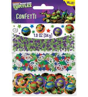 TMNT Teenage Mutant Ninja Confetti