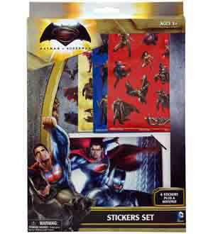 Batman vs Superman Sticker Set