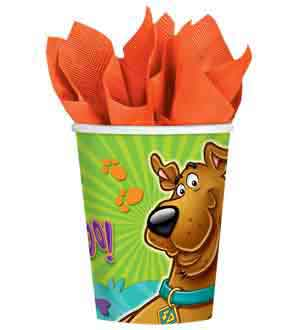 Scooby Doo Cup 9oz 8ct