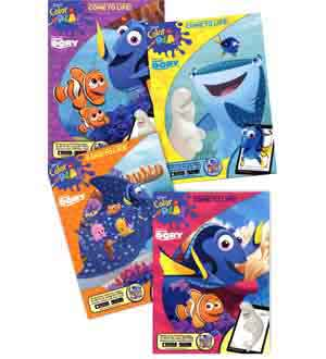 Finding Dory Jumbo Activity Book 96pg