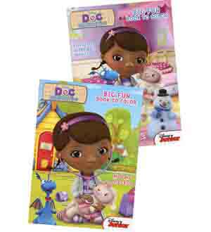 Doc Mcstuffins Coloring and Activity Boo
