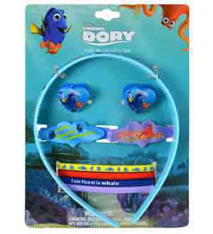 Disney Finding Dory Hair Accessory 9pc