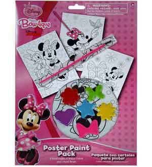 Minnie Bowtique Paint Your Own Poster 10