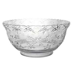 Clear Embossed Punch Bowl 12qt