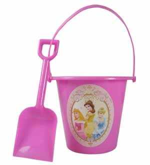 Princess Sand Bucket and Shovel